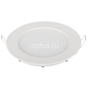 Панель светодиодная RLP 18Вт 220В 4000К 1440Лм 225/210мм белая ASD Светильники Downlight