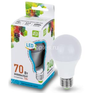 lampa sd led a60 std 7vt e27 4000k 630lm asd 300x300 - ЛАМПА СД LED-A60-STD 7ВТ Е27 4000К 630ЛМ ASD