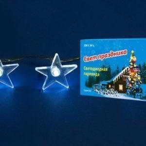 Гирлянда ULD-S0280-020/DTA WHITE IP20 STARS