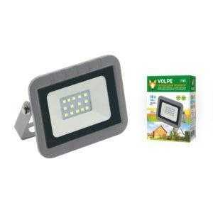 Прожектор светодиодный ULF-Q591 10W/WW IP65 220-240В SILVER картон