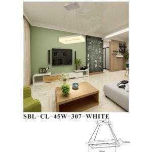 Светодиодная люстра (LED) Smartbuy307-45W/W