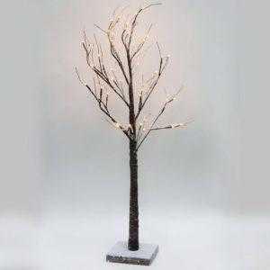 Светодиодное дерево Feron LT020 с RGB LED подсветкой от сети, высота 53 см