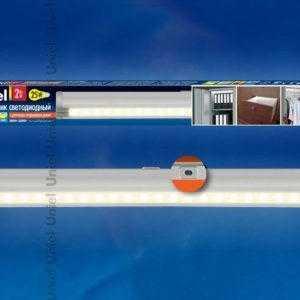 ULM-F02-2W/NW/OS IP20 SILVER SET1 картон Светодиодный светильник с датчиком открывания двери