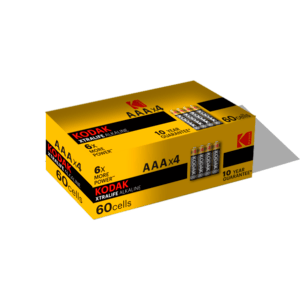 KODAK LR03-4S XTRALIFE [K3A-S4] (60/600/36000)