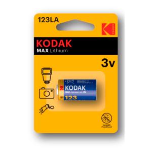 KODAK CR123 [ K123LA] (6/12/9000)
