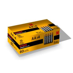 KODAK LR6-4S XTRALIFE [KAA-S4] (60/600/21600)