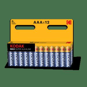 KODAK MAX LR03-12BL [K3A-12] (120/720/34560)