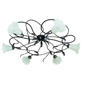 Люстра НПБ-23-03-6х40 «Ажур» черный с серебром 6х40Вт E14 TDM