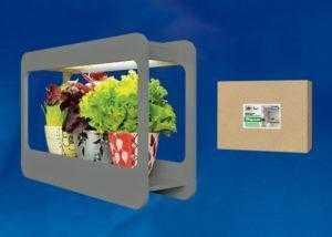 Светильник для растений светодиодный с подставкой «Минисад» ULT-P30-15W/SPFS IP40 GREY