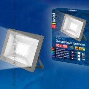 Прожектор светодиодный ULF-F15-30W/NW IP65 185-240В SILVER