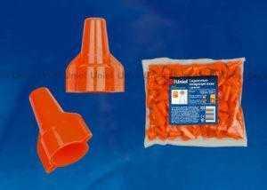 Соединительно-изолирующий зажим с крыльями Uniel UCW-W40/210 RED 100 POLYBAG