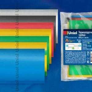 Термоусадочные трубки UIS-C010 60/30/21 MIX POLYBAG