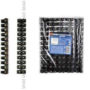 Клеммная колодка винтовая UTС-D-12 / UPP-080 Black 10 SHRK