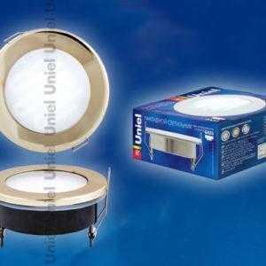 Лампа светодиодная GX53-9/4000/H5 GOLD IP54