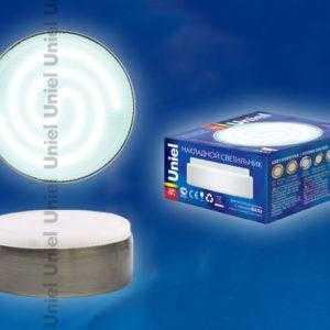 Лампа светодиодная GX53/FT ANTIQUE BRASS