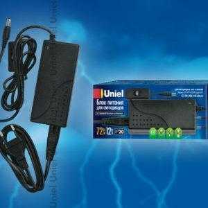 3996e6120d344ac700423fcd6c84b145 300x300 - Блок питания для светодиодов с вилкой UET-VPP-072A20 12V IP20