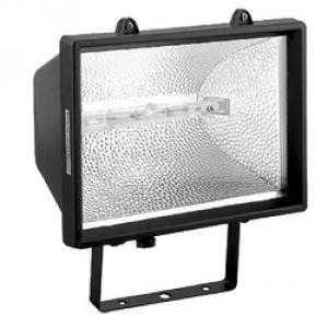 Прожектор ИО1500 галогенный черный IP54 TDM