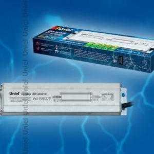 Блок питания для светодиодов с защитой от короткого замыкания и перегрузок, алюминиевый корпус UET-VAL-040A67 12V IP67