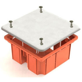 Монтажная коробка У191 СП D102х15мм, крышка, TDM