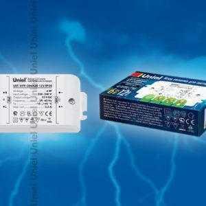Блок питания для светодиодов с защитой от короткого замыкания и перегрузок UET-VPF-006A20 12V IP20