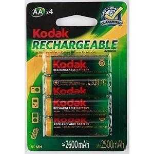 KODAK HR6-4BL 2100MAH PRE-CHARGED [KAAHRP-4] (80/640/15360)