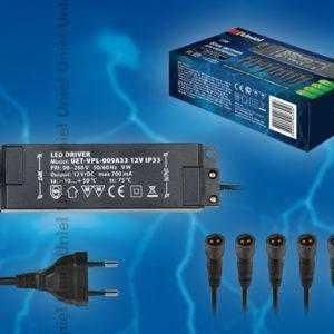 UET-VPL-009А33 12V IP33 6 выходов