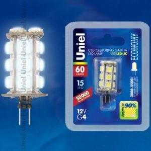 LED-JC-12/0,9W/WW/G4 60lm Corn