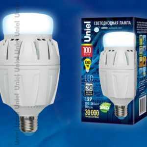 LED-M88-100W/DW/E27/FR ALV01WH картон