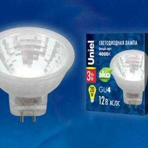 LED-MR11-3W/NW/GU4 GLZ21TR