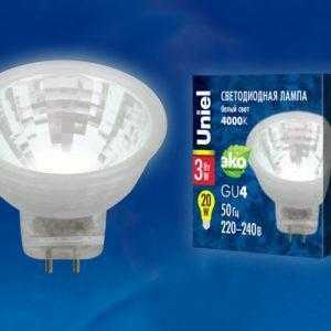 LED-MR11-3W/NW/GU4/220V GLZ21TR