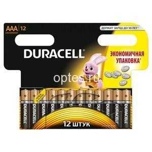 DURACELL LR03-12BL BASIC NEW (12/144/34272)