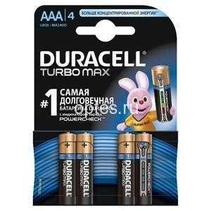 DURACELL LR03-4BL TURBO NEW (4/40/33000)