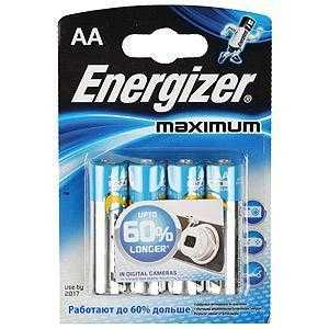 ENERGIZER LR03-4BL MAXIMUM (4/48/21600)