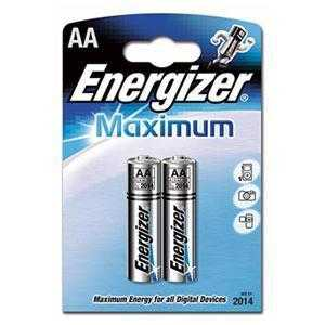 ENERGIZER LR6-2BL MAXIMUM (2/24/9360)