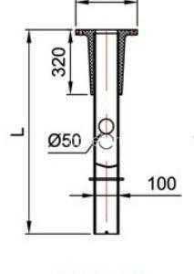 Фундамент композитный под фланцевые опоры ФКП-120-2