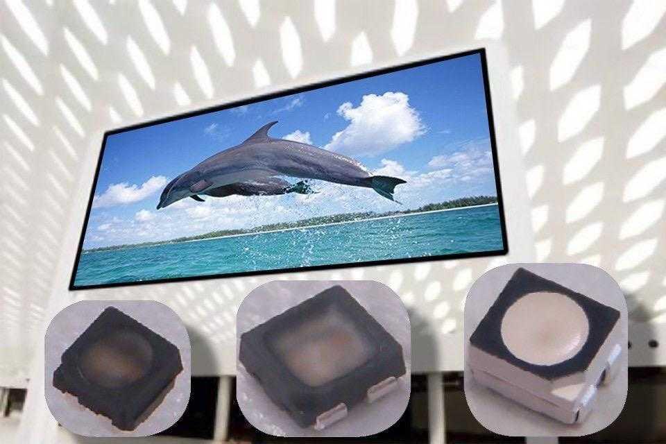 Светодиоды Cree C1010 нового поколения, повышающие четкость видеоэкранов 1
