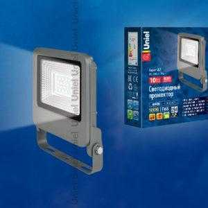 ULF-F17-10W/NW IP65 195-240В SILVER