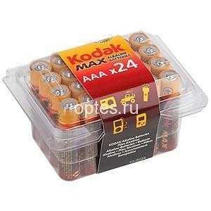 KODAK MAX LR03-24 PLASTIC BOX [24 3A PVC] (24/480/34560)