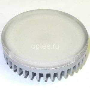 Лампа 10W GX53 LED 3000K 680Lm 220V (LED-GX53-10W-N) Включай алюм