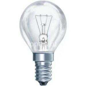 Лампа накаливания ШР P45 40Вт 220В Е14/E27 ПР 380Лм ASD