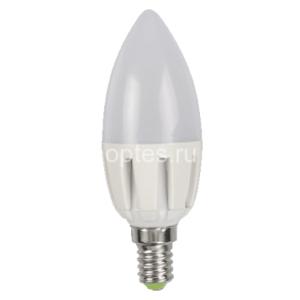 Лампа светодиодная LED-C37 5.0Вт 220В Е14 3000К/4000К 400Лм ASD