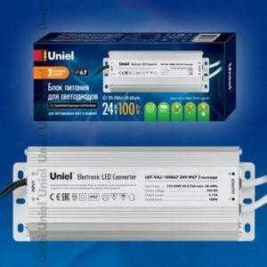 UET-VAJ-100B67 24V IP67 2 выхода