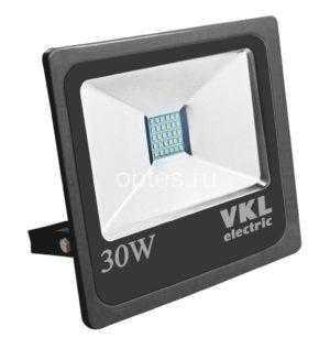 Прожектор LED SMD-30 30W 6500K 2400 Лм 220V IP65 черный