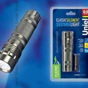 S-LD023-C Silver Фонарь Uniel серии Стандарт «Classics element – Secure Light»