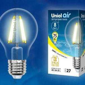 LED-A60-8W/WW/E27/CL GLA01TR картон