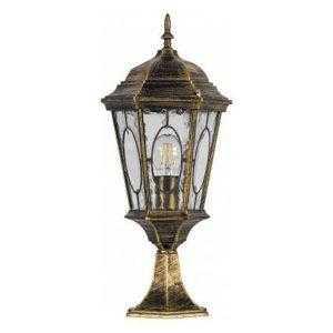 Светильник садово-парковый Feron PL154 шестигранный на постамент 60W E27 230V
