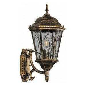 Светильник садово-парковый Feron PL160 шестигранный на стену вверх 60W E27 230V
