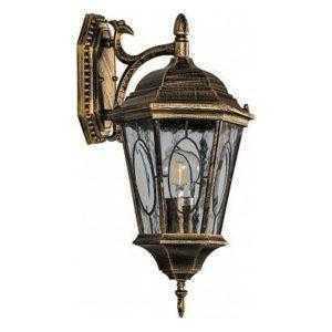 Светильник садово-парковый Feron PL161 шестигранный на стену вниз 60W E27 230V