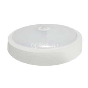 Светильник СПБ-2Д 155-5 5Вт 400лм IP20 155мм c датчиком белый ASD