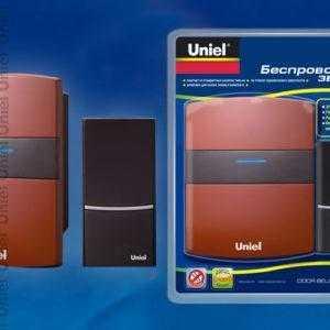UDB-001W-R1T1-32S-100M-RD Звонок беспроводной